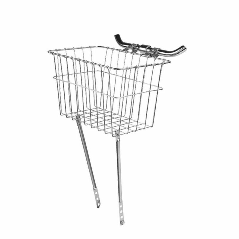 Wald 135 Bike Grocery Basket Silver