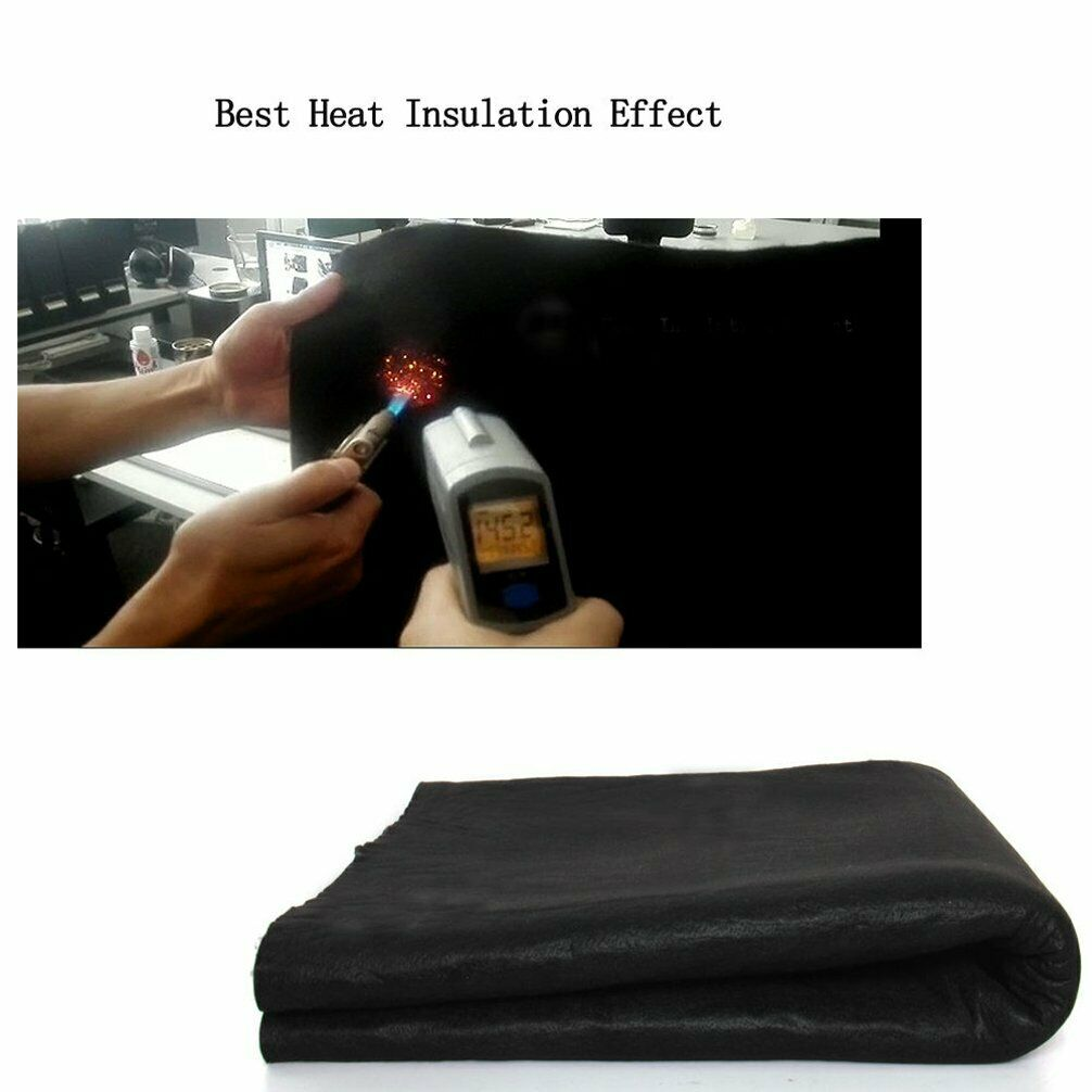 48 x 72inches Carbon Fiber Welding Protective Blanket Torch