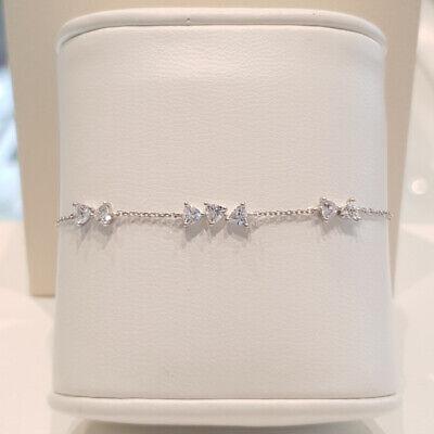 [STONE HENGE] SILVER 925 Triangle Cubic Bracelet N0059 with Case K-beauty