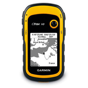 Garmin eTrex 10 Outdoor Handheld GPS Receiver with Worldwide Basemap NEW