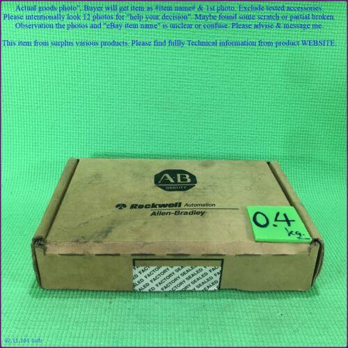 Allen Bradley Slc500, 1746-iv32 Ser.d, Plc Input Module As Photo, Sn:0703.