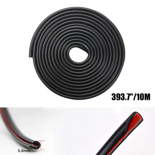 Car Parts - Edge Door Guard Trim Car Moulding Guards Auto Molding Protector 32ft Strip Black