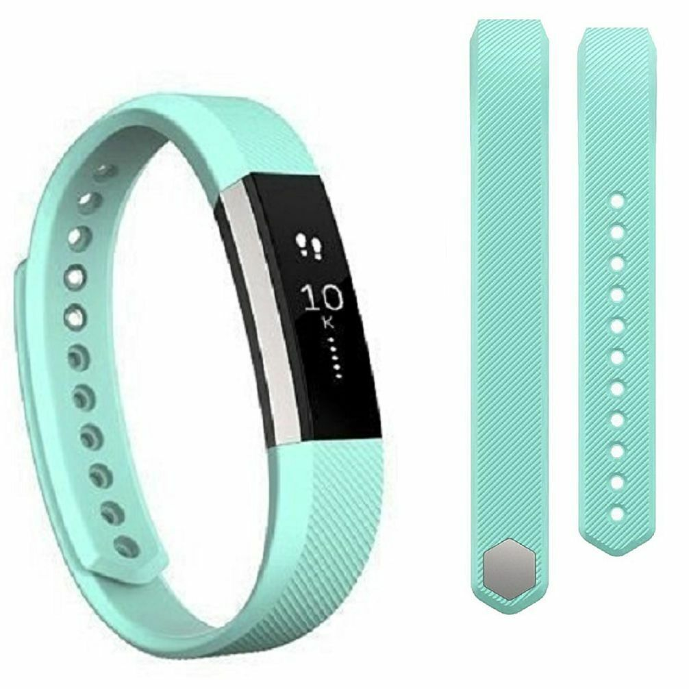 Replacement Silicone Wrist Band Strap For Fitbit Alta/ Fitbit Alta HR Teal