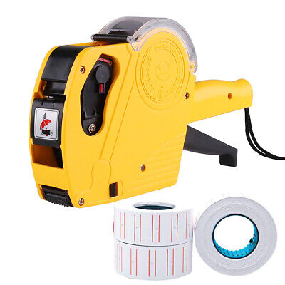 8 Digits Price Numerical Tag Gun Label Maker Mx5500 Eos With Sticker Label Paper