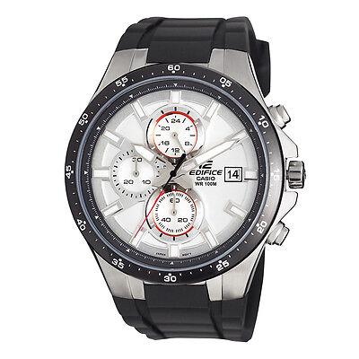 Mens Watches - Casio Edifice Men's EFR519-7AV Quartz Chronograph Resin Strap 42mm Watch