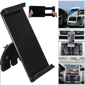 Car CD Dash Slot Mount Tablet Holder Dock For iPad 1/2/3/4 air 2 7