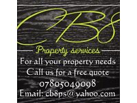 Cb8 property services available for work