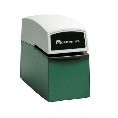 Acroprint Et Heavy Duty Document Stamp Time Clock 01-5000-001 New