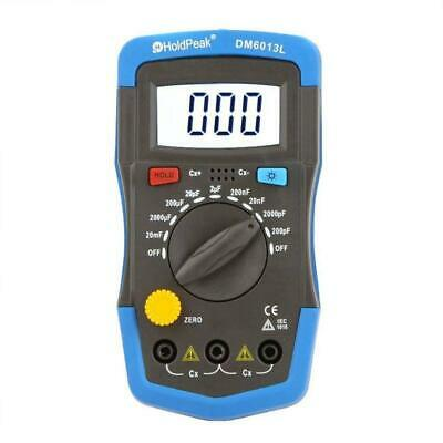 Handheld Digital Capacitor Capacitance Tester Meter Lcd Backlight New Dm6013l