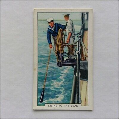 Park Drive Gallaher The Navy 18 Swinging The Lead Cigarette Card (CC5) for sale  Shipping to Ireland