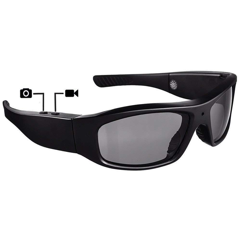 720p Spy Hidden Covert Sunglasses Camera Wearable Video Recording DVR 8GB Includ
