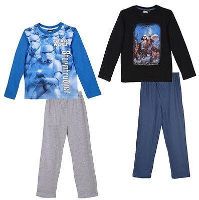 Storm Trooper Anzug (Star Wars Darth Vader od Stormtrooper langarm Schlafanzug Pyjama lang Baumwolle)