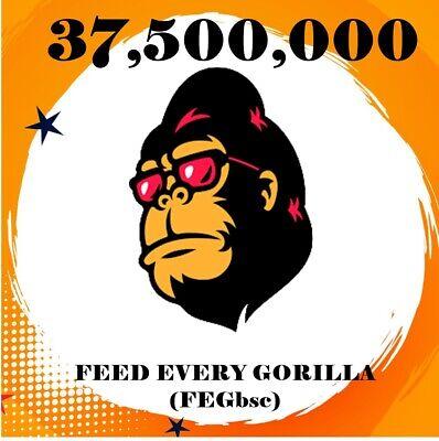 37, 500, 000 FEED EVERY GORILLA (FEGbsc)