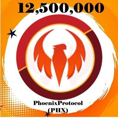 12, 500, 000 PHOENIXPROTOCOL (PHX)