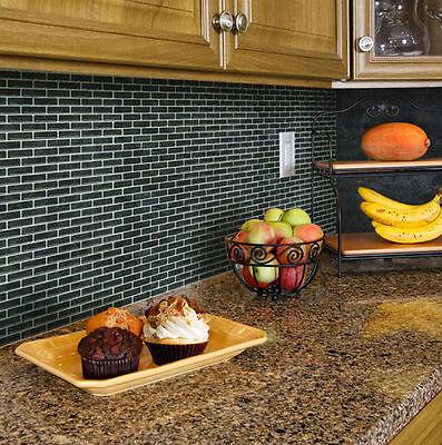 Home Bathroom Kitchen Brick 3D Wall Decor Stickers Wallpaper Tile Art Backsplash