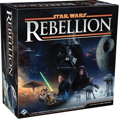 Star Wars  Rebellion Board Game  Brand New  No Sales Tax  Free Same Day Shipping