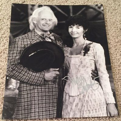Mary Steenburgen Signed Back To The Future 3 Iii 11X14 Photo W Exact Proof