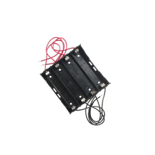 Plastic Battery Holder Storage Box Case For 4x 18650 Rechargeable Battery NEW
