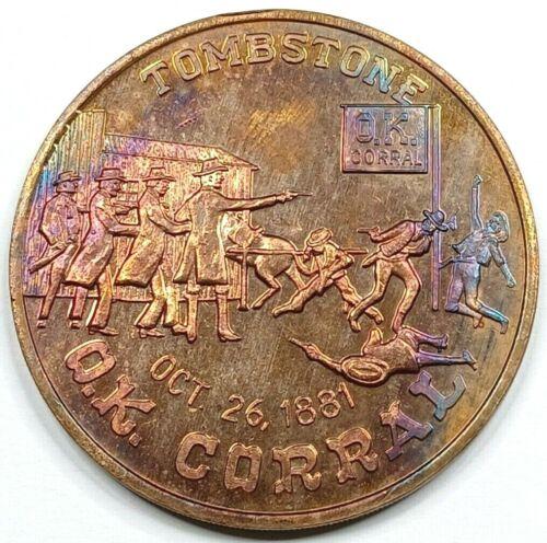 Tombstone O.K. Corral Copper Medal - Saturday Nite