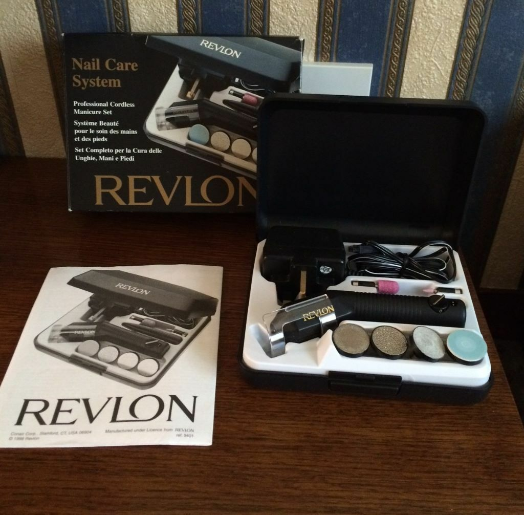 REVLON NAIL CARE MANICURE/PEDICURE SYSTEM, MODEL 9401 (BRAND NEW ...