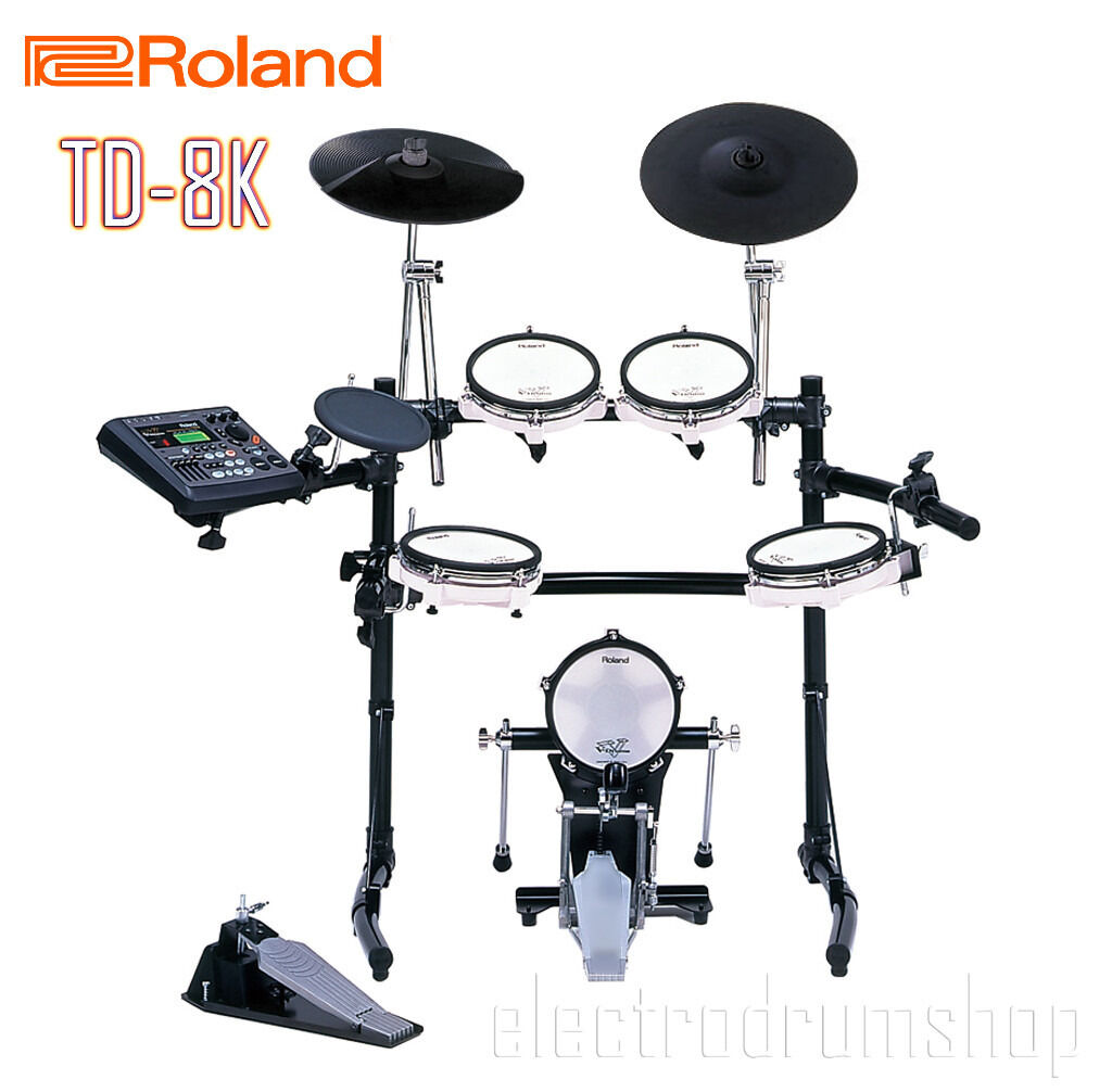 roland td 8 electronic v drums kit kick pedal full mesh vex rh gumtree com roland td 8 manuale in italiano Roland TD 8 Battery
