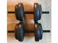 Set of 2 Dumbells (7.5kg each)