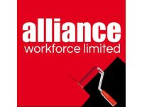 Painter / Decorator Vacancy 6 Weeks Selby £13 per hour Call Alliance 0113 202 6050