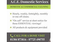 Highly recommended cleaners available in your area now! First class references.