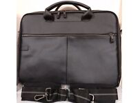 Dell 15.4 inch BRAND NEW faux leather laptop bag