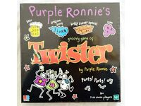 (rare) Purple Ronnie's Groovy Game Of TWISTER (Adult 16+) NEW Sealed Box