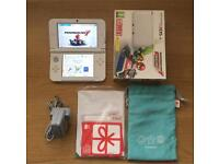 Nintendo 3DS Console White Mario Kart Limited Edition + Extras