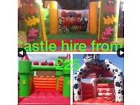 Mascot bouncy castle soft play candy floss machine