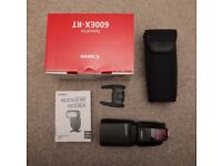 Canon Speedlite 600EX-RT Speedlite - Boxed with all accessories