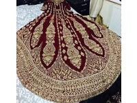 Traditional bridal lehnga asian wedding dress outfit for sale