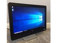 """DELL OPTIPLEX 9010 ALL IN ONE 23"""" HD PC COMPUTER I5 QUAD 8GB RAM 120GB FAST SSD WINDOWS 10 OFFICE 16"""