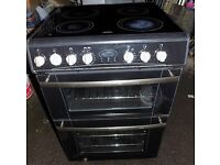 Belling cooker with ceramic hob