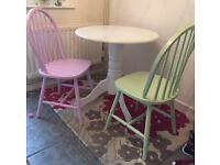 Kitchen table and 2chairs