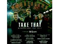 Take That Fri 26/5/17 X 2 MEN