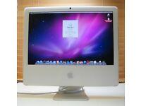 FAULTY APPLE iMac 20 inch * 10.6.8 Snow Leopard 2.16 GHz Intel Core Duo 2GB 250GB HD