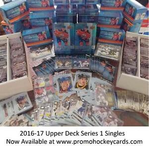 2016-17 Upper Deck Series 1 Hockey Card Singles Available - Matthrews Young Guns YG RC Canvas Portraits Shining UD One