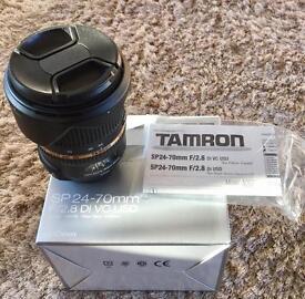 Tamron 24-70 mm 2.8 Di VC USD to fit Canon