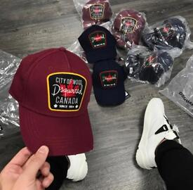 Dsquared ICON hats Caps. Limited RARE | 100% Authentic