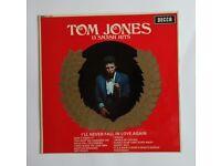 Tom Jones 13 Smash Hits Vinyl Album 1967