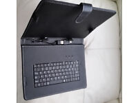 """NEW 10"""" Inch Cover For Android Tablet PC Case USB Keyboard With Stand"""