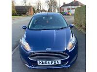 2014 Ford Fiesta 1.5 TDCi Style Eco Diesel 41K FSH 12 months MOT £0 Tax (Corsa Clio ds3)
