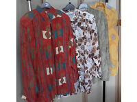 Assorted blouses size 18