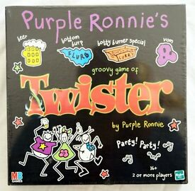 Purple Ronnie's Groovy Game Of TWISTER (Adult 16+) NEW Sealed Box