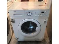 7KG ZANUSSI ZG245 DIGITAL INTEGRATOR WASHER & DRYER 3 MONTH WARRANTY, FREE INSTALLATION
