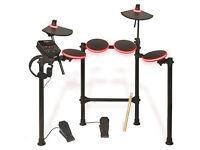 ION Audio Redline Drums | Illuminated USB Electronic Drum Kit with Drumsticks