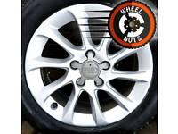 "16"" Genuine Audi A3 alloys Caddy Golf Leon perfect cond premium tyres."
